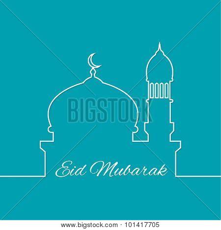 Arab mosque.