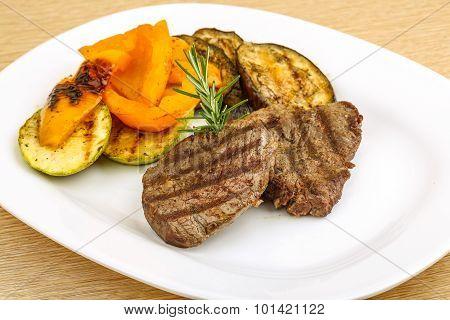 Grilled Veal Steak