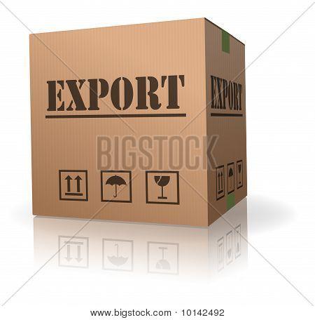 Export Sending cardboard box