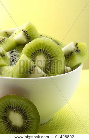Kiwifruit In A Bowl