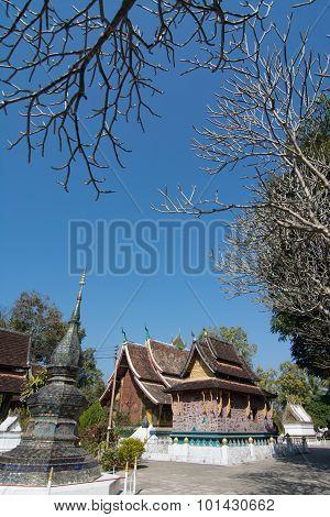 Wat Xieng Thong Temple In Luang Pra Bang, Laos