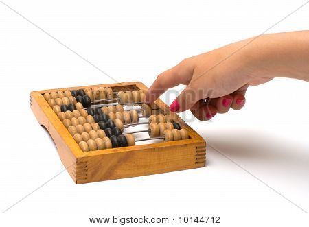 Wooden Abacus.