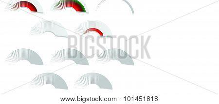 Signal Strength, Progress, Level Indicator, Vector Illustration.