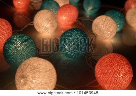 cotton ball light