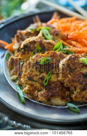 Kimchi Cakes