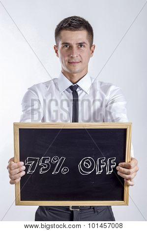 75% Off