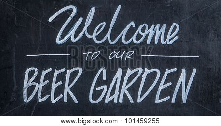 Welcome To Our Beer Garden