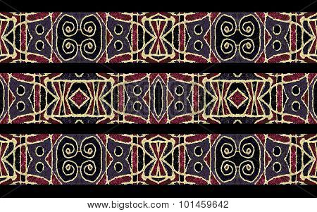 Tribal Stripe Seamless Pattern