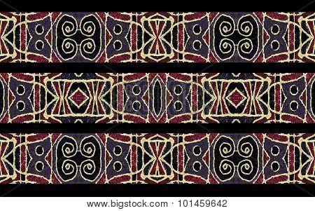 Tribal Stripe Seamless Pattern