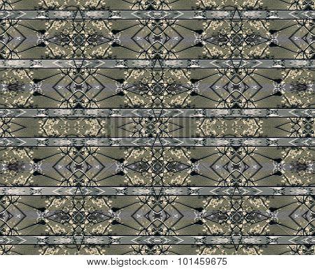 Stripe Modern Baroque Seamless Pattern