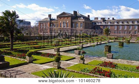 Kensington Palace And Gardens, London, England, United Kingdom.