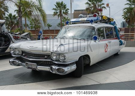 Ghostbusters Car On Display