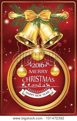 Corporate Christmas and New Year card 2016