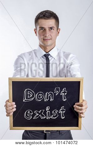 Don't Exist