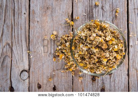 Portion Of Dried Camomile