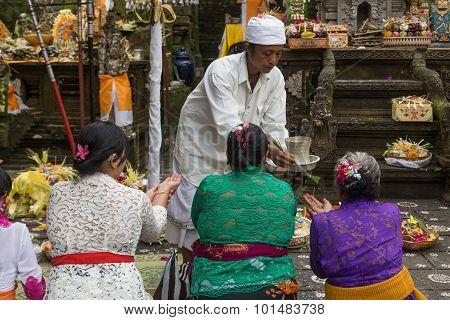 Balinese Temple Ceremony