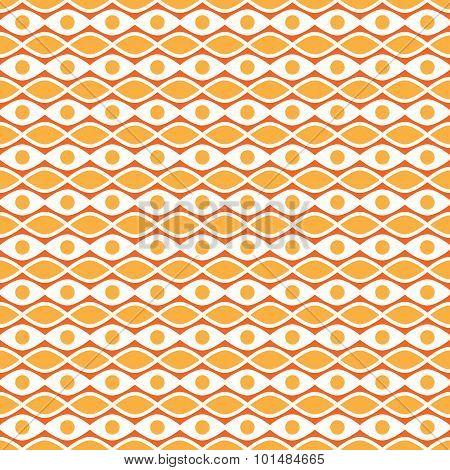 Autumn  seamless pattern. Endless texture