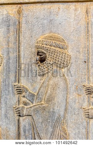 Guardian relief detail Persepolis