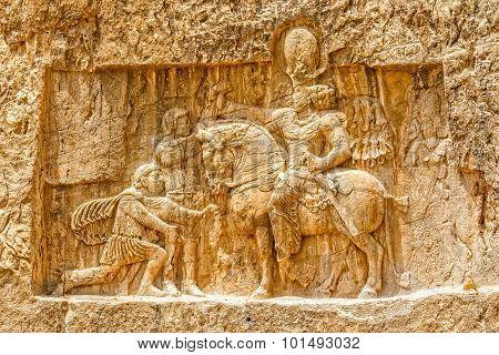 Naqsh-e Rustam relief