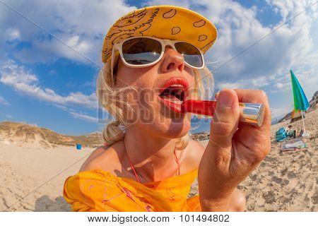 Lipgloss Applying