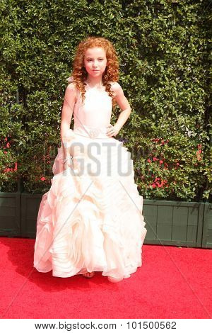 vLOS ANGELES - SEP 12:  Francesca Capaldi at the Primetime Creative Emmy Awards Arrivals at the Microsoft Theater on September 12, 2015 in Los Angeles, CA