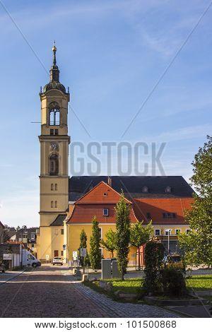 Church Of Our Lady (marienkirche) In Werdau, Germany