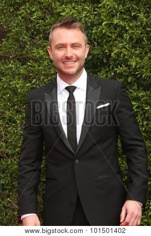 LOS ANGELES - SEP 12:  Chris Hardwick at the Primetime Creative Emmy Awards Arrivals at the Microsoft Theater on September 12, 2015 in Los Angeles, CA
