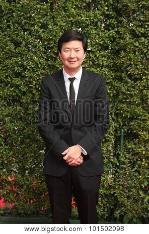 vLOS ANGELES - SEP 12:  Ken Jeong at the Primetime Creative Emmy Awards Arrivals at the Microsoft Theater on September 12, 2015 in Los Angeles, CA