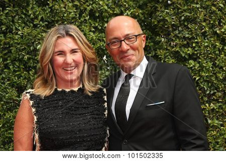 vLOS ANGELES - SEP 12:  Nancy Dubuc at the Primetime Creative Emmy Awards Arrivals at the Microsoft Theater on September 12, 2015 in Los Angeles, CA