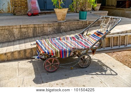 Old Carts in Shiraz