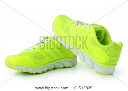 Pair Of Sport Shoes Isolated On White