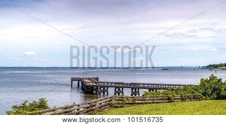 Chesapeake Bay Maryland Panorama