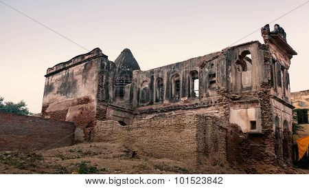 Old abandoned religious building.