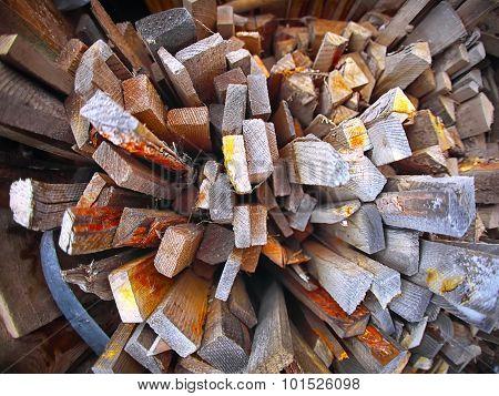 Heap Of Old Lumber