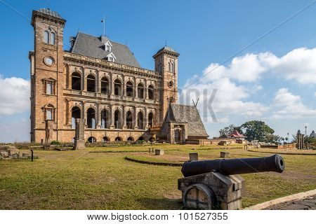 Courtyard Of Royal Palace Complex ,rova Of Antananarivo