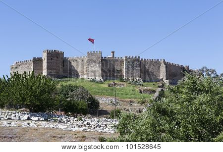 Fortress Selcuk in Selcuk. Turkey.
