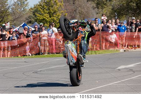 Motorcycle Stunt Rider - Wheelie