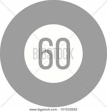 Speed limit 60