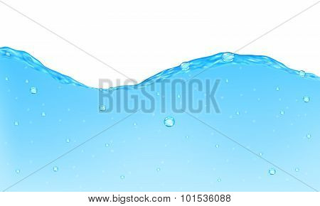 Opaque Water Background
