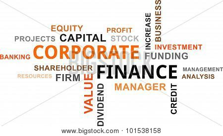 Word Cloud - Corporate Finance