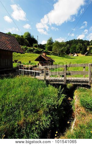 Ebet mill and bake house in the Black Forest