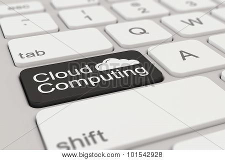 Keyboard - Cloud Computing - Black