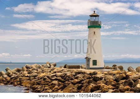 Santa Cruz Breakwater Lighthouse, Walton Lighthouse, Santa Cruz