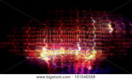 Futuristic Screen Display Pixels 10477