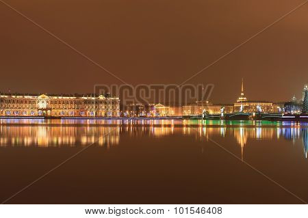 Night St. Petersburg