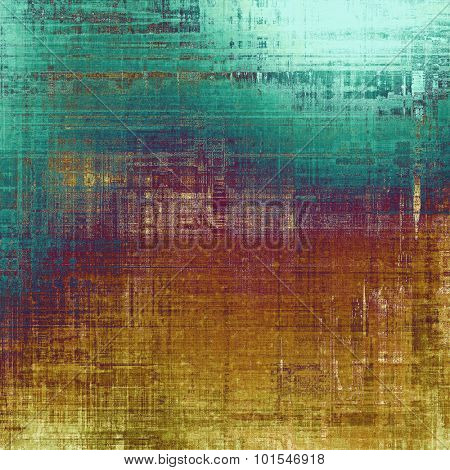 Old, grunge background texture. With different color patterns: yellow (beige); blue; purple (violet); cyan