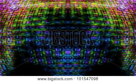 Futuristic Screen Display Pixels 10480
