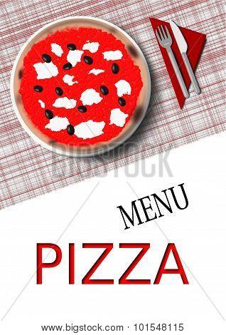 italian pizza menu