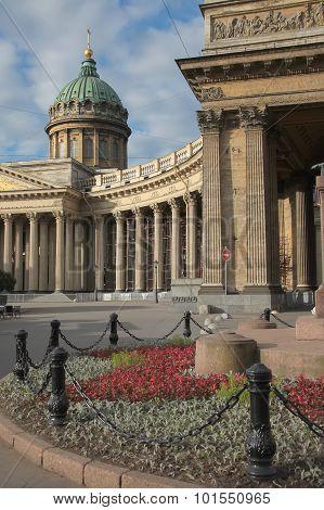 Kazan Orthodox Cathedral. Saint-Petersburg, Russia