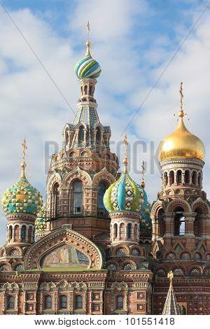 Orthodox Church of the Savior on blood. Saint-Petersburg, Russia